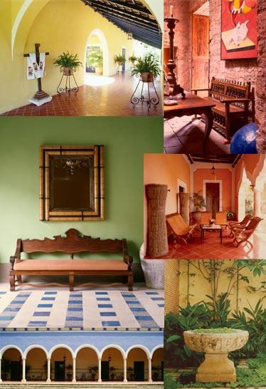 Hacienda style our books mexican design books mexican for Mexican interior designs