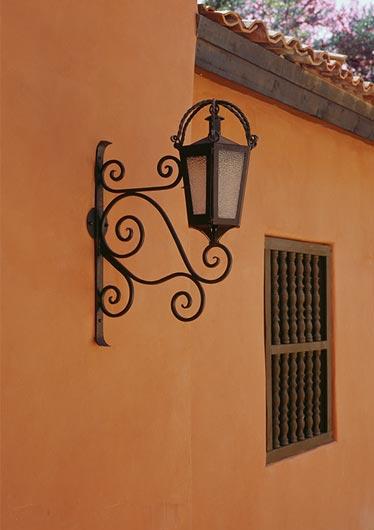hacienda style iron lighting mexican iron lighting spanish colonial