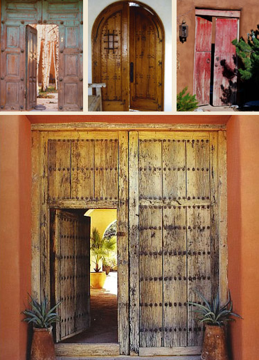 Hacienda Style Mexican Doors Mexican Antique Doors Old