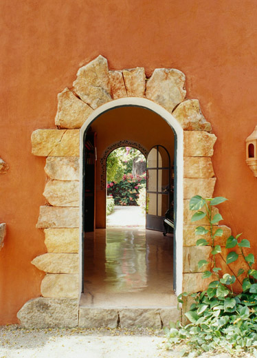 Hacienda style for Mexican style architecture